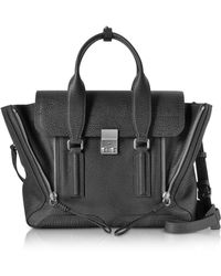 3.1 Phillip Lim - Black-nickel Pashli Medium Satchel - Lyst