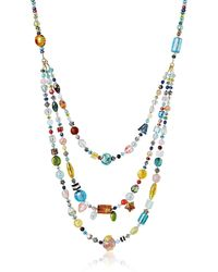 Antica Murrina Long Brio Necklace - Metálico