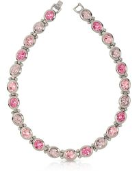 FORZIERI Pink Crystals Necklace