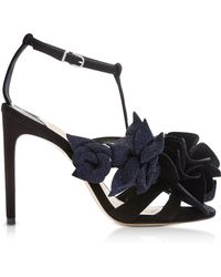 Sophia Webster - Black & Midnight Jumbo Lilico Sandals - Lyst