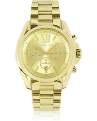 Michael Kors Mid-size Bradshaw Chronograph Watch - Metallic