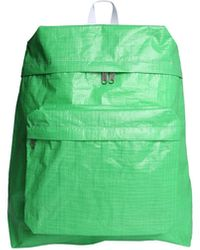 Comme des Garçons Shirt Backpack In Technical Fabric - Green