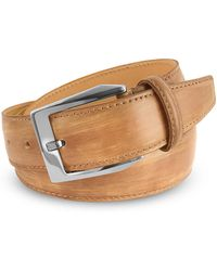 Pakerson - Men's Sand Hand Painted Italian Leather Belt - Lyst
