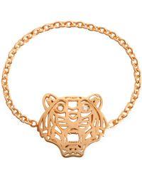 KENZO Mini Tiger Ring in rosegold - Mettallic