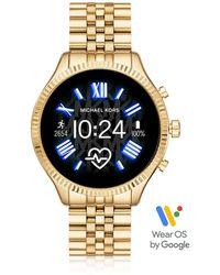Michael Kors Lexington 2.0 Smartwatch pour Femme en Acier Doré - Métallisé