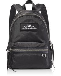 Marc Jacobs The Medium Nylon Backpack - Black