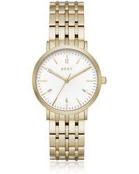 DKNY - Ladies Gold Minetta Watch Ny2503 - Lyst