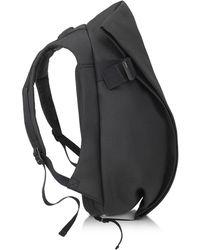 Côte&Ciel Isar Eco Yarn Medium Rucksack in schwarz