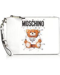 Moschino - Teddy Bear Small Pouch - Lyst