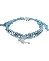 Sho London - Manatee Friendship Silk Bracelet - Lyst