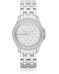 Armani Exchange - Ax5215 Lady Hampton Women's Watch - Lyst