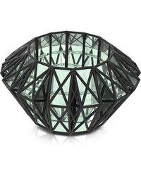Vojd Studios - Translucent Glass Cage Cuff - Lyst