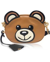 Moschino - Teddy Bear Head Shoulder Bag - Lyst