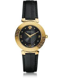 Versace - Daphnis Reloj de Mujer de Acero Inoxidable Dorado - Lyst