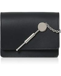 Sophie Hulme - Saddle Leather W/chain Micro Cocktail Stirrer - Lyst