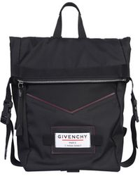 Givenchy Logo Backpack - Black