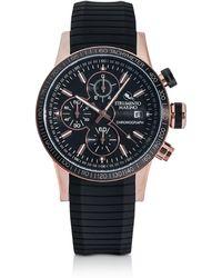 Strumento Marino - Admiral Black Silicon Chronograph Men's Watch - Lyst