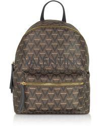 Valentino By Mario Valentino Liuto Signature Eco Leather Backpack - Black