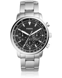 Fossil - Goodwin Chronogragh Stainless Steel Watch - Lyst