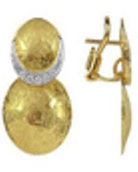 Torrini - Lenticchie - 18k Gold And Diamond Earrings - Lyst