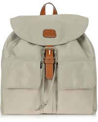 Bric's - X-travel Nylon And Leather Backpack - Lyst