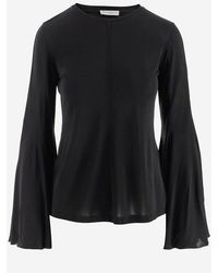 JW Anderson Black Women's Top W/long Sleeve