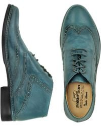 PakersonDesigner Shoes, Italian Handmade Leather Lace-up Shoes