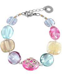 Antica Murrina - Women's Multicolor Steel Bracelet - Lyst