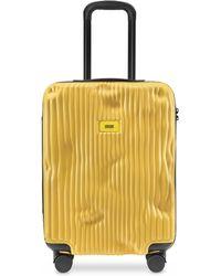 Crash Baggage Stripes Carry-On Trolley - Amarillo