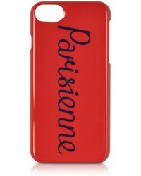 Maison Kitsuné - Parisien Red Iphone 7 Case - Lyst