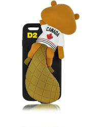 DSquared² Black Silicone Iphone 6 Cover
