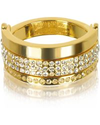 Vita Fede Gold Metal Ring - Metallic