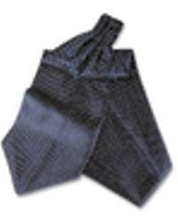 FORZIERI - Polkdot Silk Ascot - Lyst