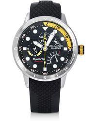 Strumento Marino - Regatta Vip Stainless Steel Men's Chronograph Watch W/black Silicone Band - Lyst