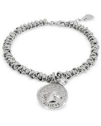 Nomination Sterling Silver Believe Charm Bracelet - Metálico