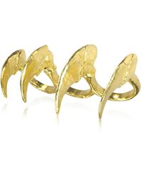 Bjorg - Howling At The Moon - Knuckle Claw Ring - Lyst