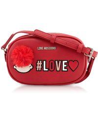 Love Moschino - Red Love Crossbody Bag - Lyst