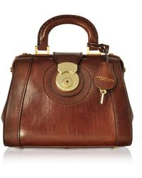 The Bridge - Rufina Small Leather Doctor Bag - Lyst