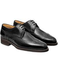 Pakerson Black Pisa Derby Shoe