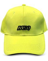 McQ Neon Yellow Jersey Men's Basaball Cap