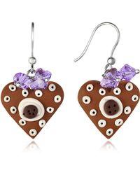 Dolci Gioie - Heart Cake Earrings - Lyst