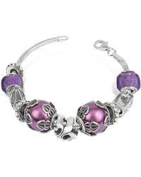 Tedora - Sterling Silver Florence Bracelet - Lyst