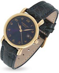 Raymond Weil Reloj Dial Oro 18K y Correa piel - Azul