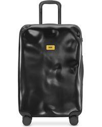 Crash Baggage Icon mittelgroßer Trolley - Schwarz