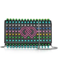 DSquared² Studded Dd Clutch Bag - Black