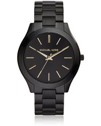 Michael Kors MK3221 Slim runway Women's Watch - Negro