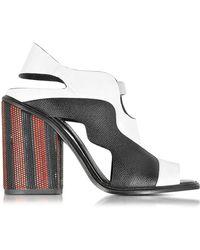 Proenza Schouler - Color Block High Heel Sandal - Lyst