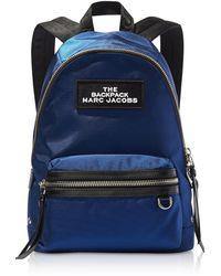 Marc Jacobs The Medium Nylon Backpack - Blau