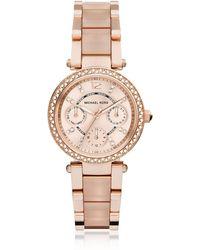 Michael Kors - Mini Parker Women's Watch - Lyst