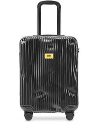 Crash Baggage Stripes Carry-On Trolley - Negro